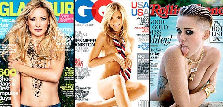 Знаменитости на обложках популярных журналов: больше чем просто фото