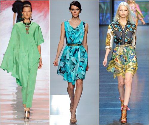 Модные цвета весна-лето 2013, фото