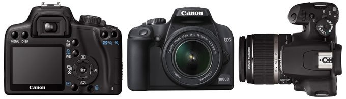Canon EOS 1000D Цифровой фотоаппарат