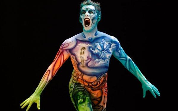Крупнейший ежегодный всемирный фест иваль боди-арта 2012 (39 фото)