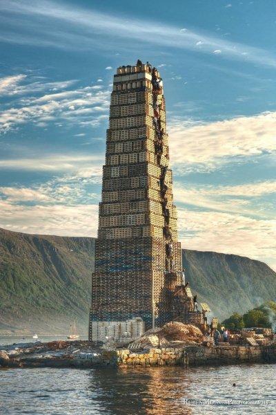 Самый большой в мире костер (10 фото)