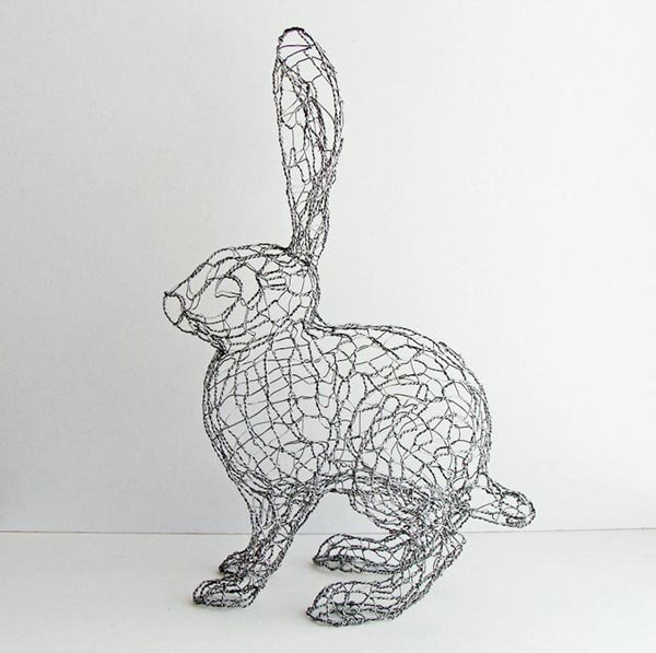 Скульптуры из проволоки от Дизайнера Рута Дженсена (Ruth Jensen) (18 фото)