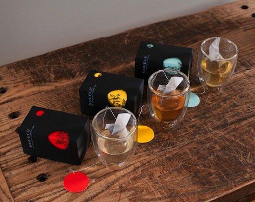 Креативные упаковки чая (6 фото)