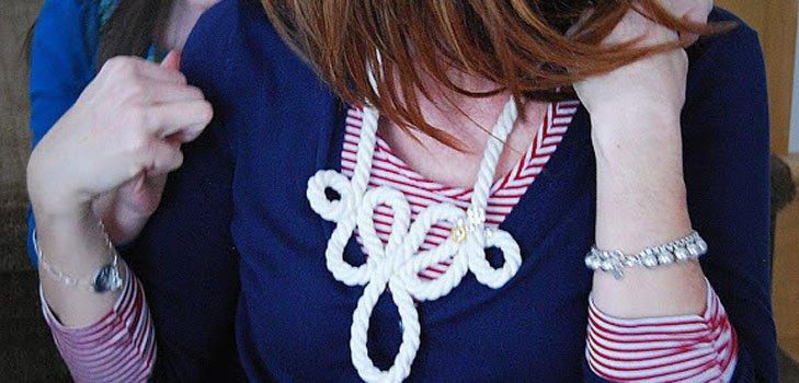 3 ожерелья в морском стиле своими руками