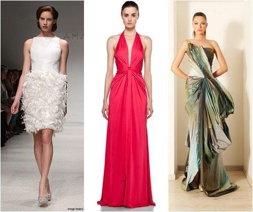 Вечерние платья на выпускной 2013: фото красивых фасонов выпускных платьев