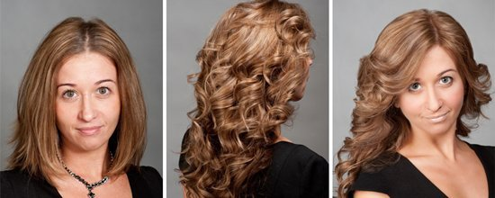 Техника 3D окрашивания волос: фото до и после объемного окрашивания
