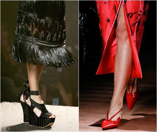 Модная обувь сезона весна-лето 2013: фото самых стильных моделей женской обуви