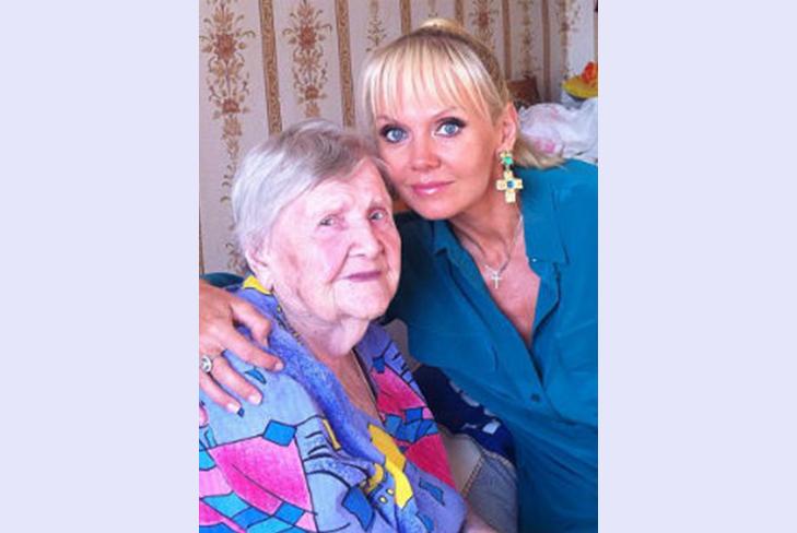 Бабушке Валерии исполнилось сегодня ровно 100 лет