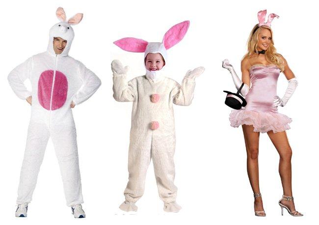 Новогодний костюм кролика