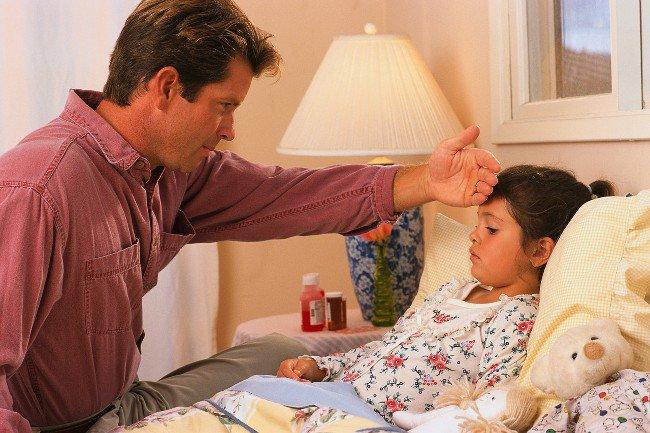 У ребенка поднялась температура: что делать?