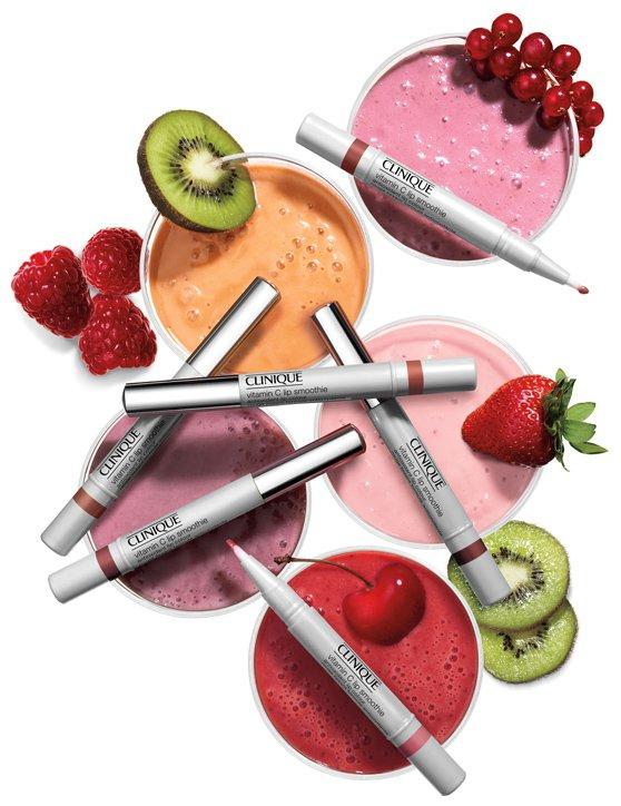Clinique Vitamin C Lip Smoothie Lip Colour разглаживающий блеск для губ