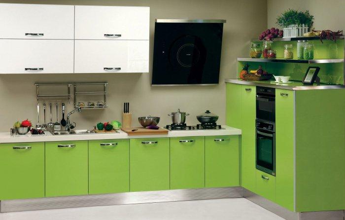 Цвет кухни по Фен-шуй. Какого цвета сделать кухню. Цвет обоев на кухне