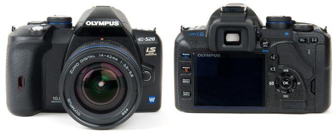 Olympus E-520 Цифровая камера