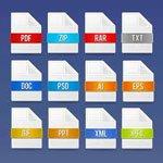 Расширения файлов в Windows