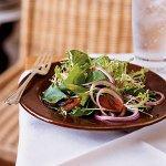 Салат с грейпфрутом и огурцами