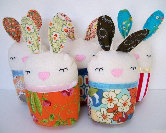 Новогодняя поделка Кролик