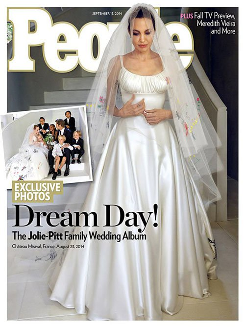 Как Дженнифер Энистон отреагировала на свадьбу Питта и Джоли