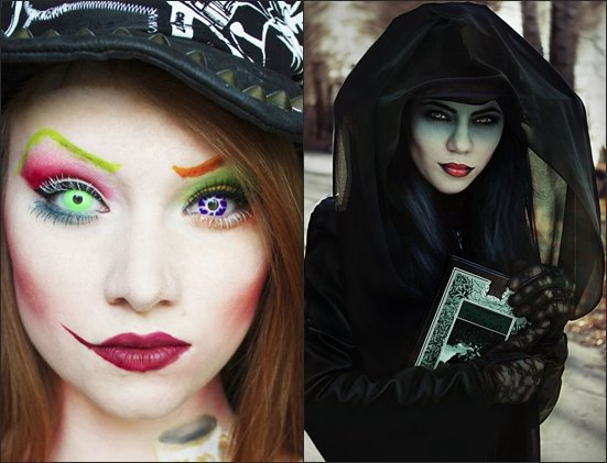 Как создать образ ведьмы на Хэллоуин