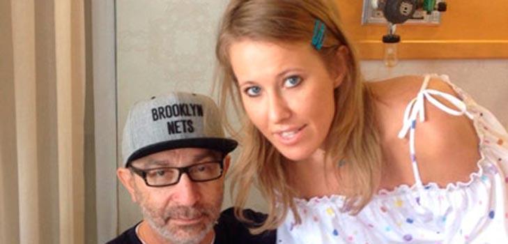 Ксения Собчак и мэр Харькова встретились в Израиле