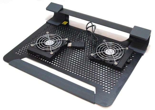 Охлаждающая подставка для ноутбука своими руками