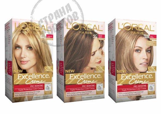 LOreal Excellence Creme краска для волос