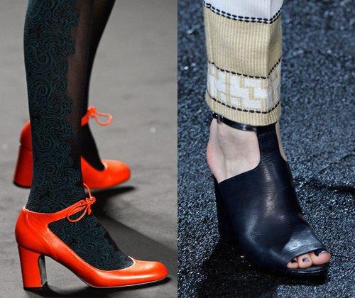 Модная женская обувь осень зима 2014: фото самой модной зимней обуви 2014 года