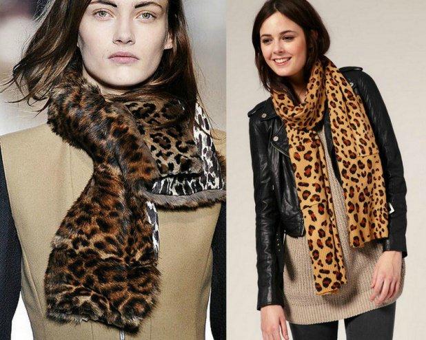 Модные шарфы, Зима 2014–2015 – фото модных женских шарфов и платков, Осень-Зима 2014–2015