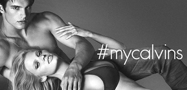 Новая рекламная кампания Calvin Klein с Ларой Стоун