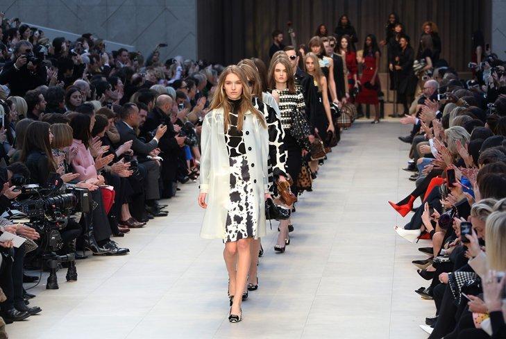 Открытие Недели моды в Лондоне