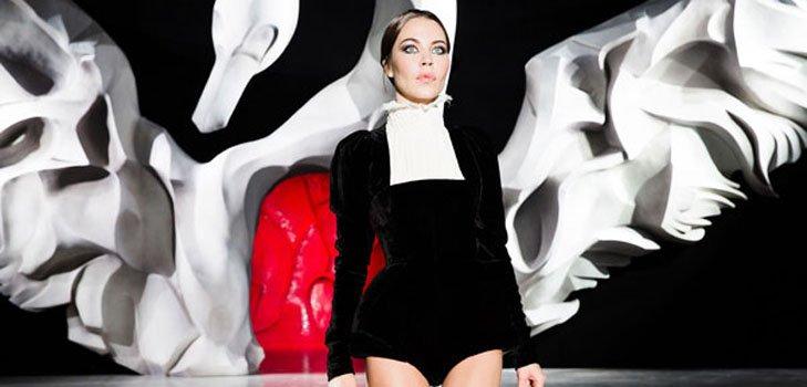 Показ Ульяны Сергеенко на парижской Неделе высокой моды