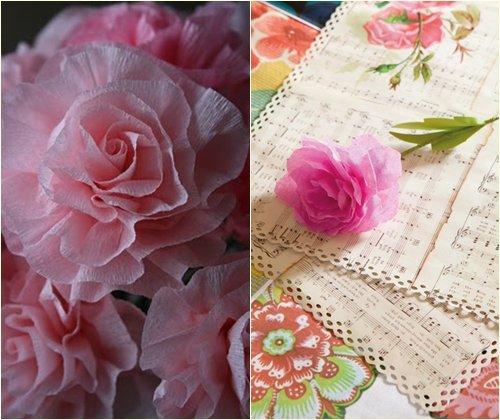 Как сделать цветы из гофрированной бумаги: мастер-класс