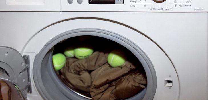 Стирка пуховика в стиральной машинке – это просто