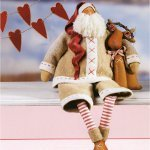 Кукла тильда: рождественский ангел своими руками