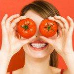 Маска из помидоров для лица