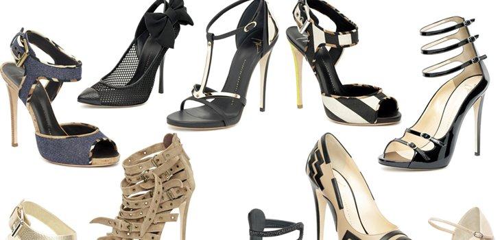 Юбилейная коллекция обуви Giuseppe Zanotti