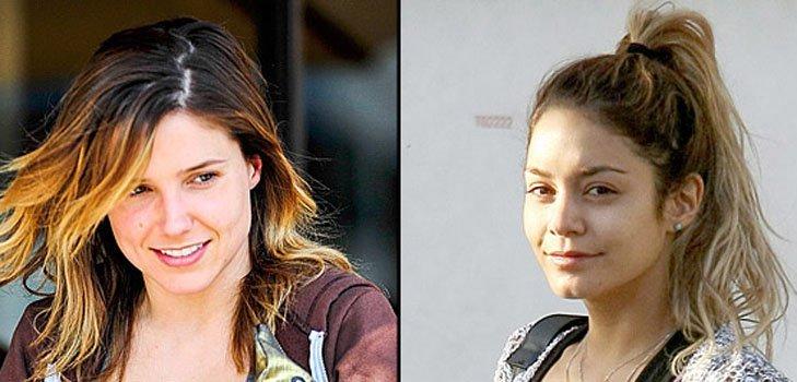 Звезды Голливуда раскрывают секреты красоты без макияжа